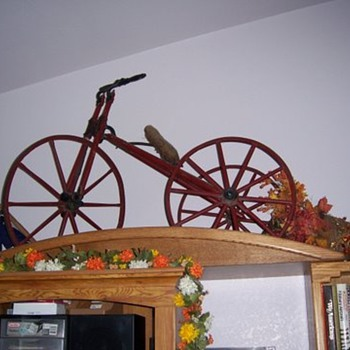 My dad's tricycle