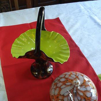 Our first basket Kralik or Welz?  - Art Glass
