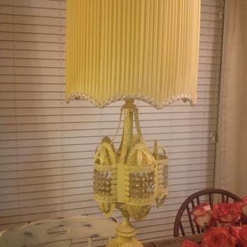 Gaudy vintage lamp