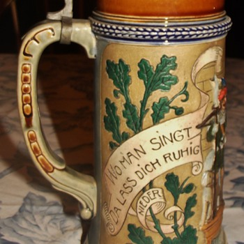 My grandfather's stein - Breweriana