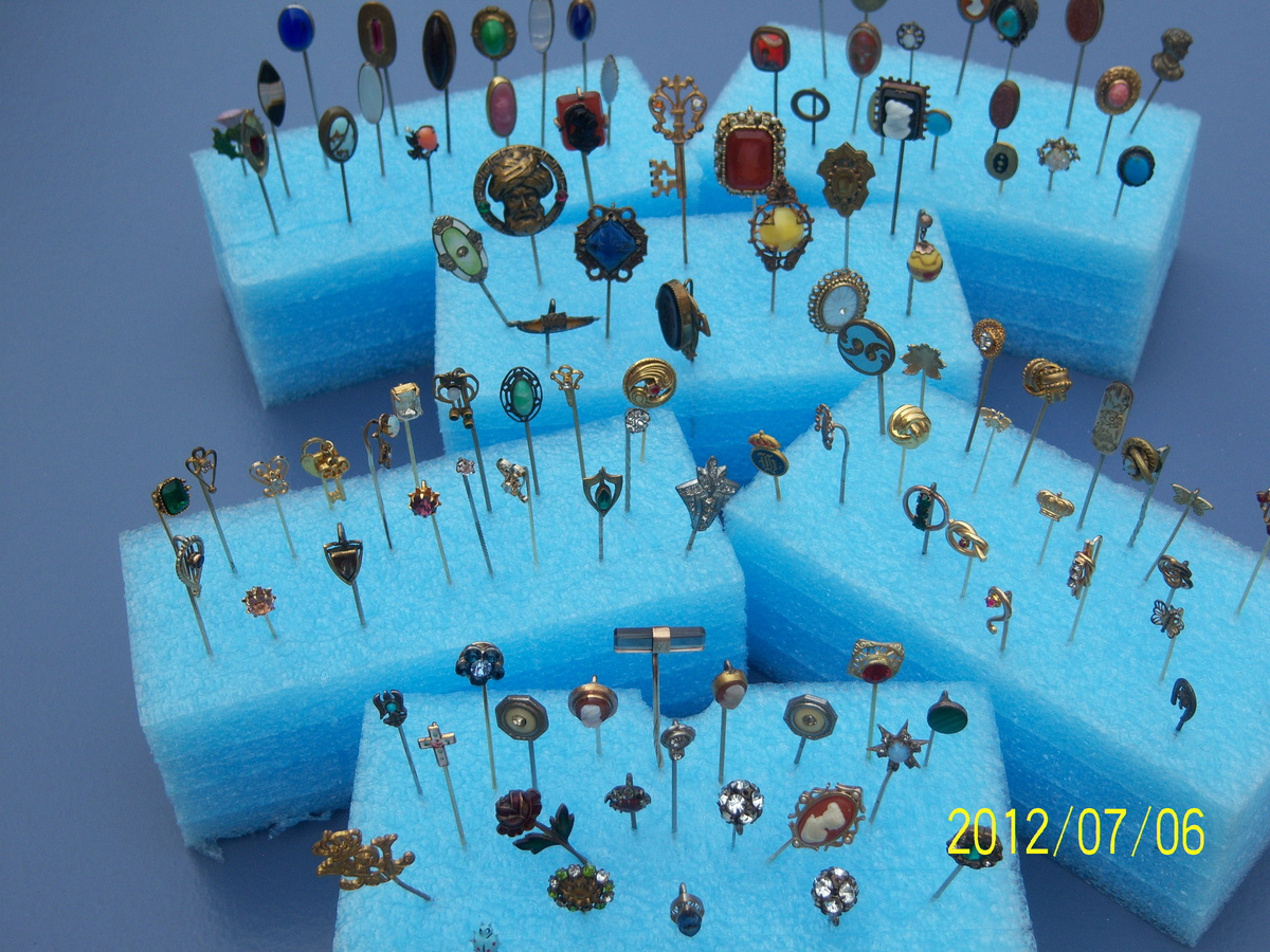 a49e7d01d antique stick pin collection | Collectors Weekly