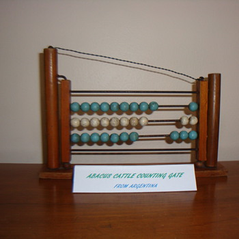ABACUS CATTLE COUNTING GATE - Advertising