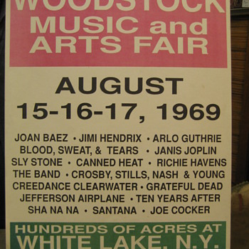 Mystery Woodstock Poster - Posters and Prints