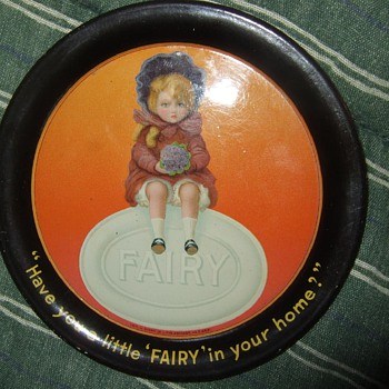Fairy Soap Tip Tray. - Advertising