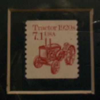 John Deere D stamp