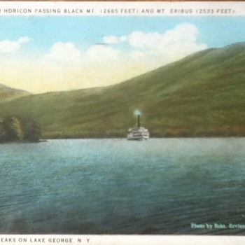 1930 Lake George Postcard