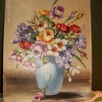 Floral Painting  - Fine Art