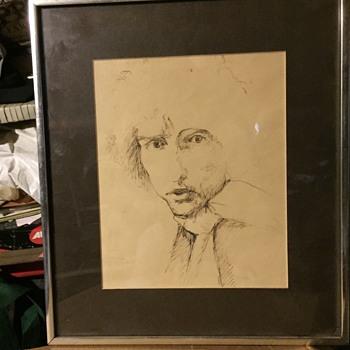 Bob Dylan sketch  - Fine Art