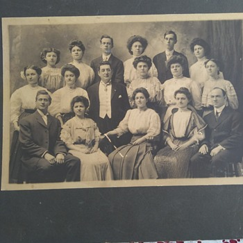 Early 1900's Family Photo - Photographs