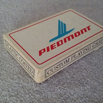 deck of PIEDMONT AIRLINES playing cards - Cards