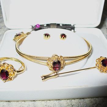Amethyst Jewelry Set - Fine Jewelry