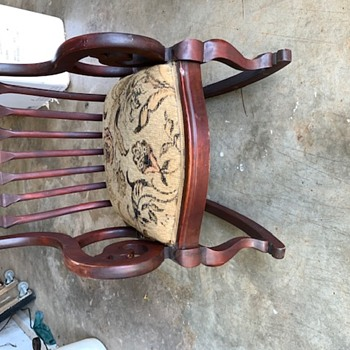 A Christmas gift. Not sure what year/era - Furniture
