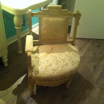 Can you tell me anything about my treasured chair ?