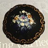 Beautiful painted Brooch