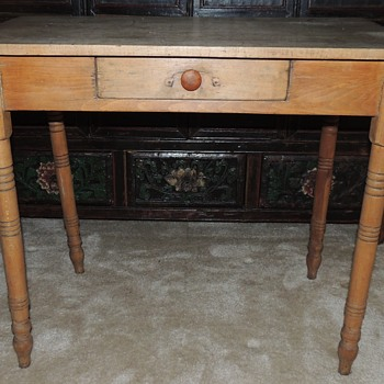 "Mixed Hardwood Table - 22"" x 36"" - Furniture"