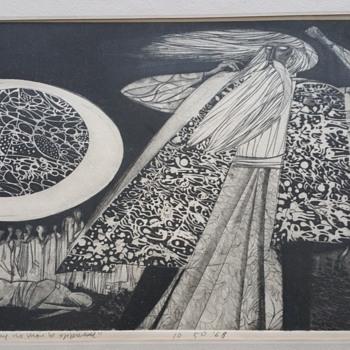 "Original art ""that man may no more be oppressed"