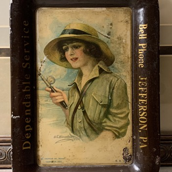 WW1 Tip tray - Advertising