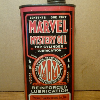 Marvel Mystery Oil Can - Petroliana