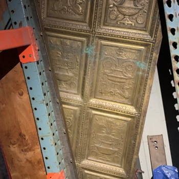 Brass Decorative Panels - Tools and Hardware