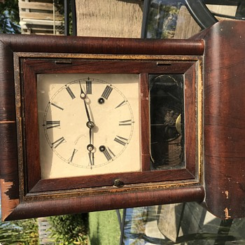 Gilbert 1871 mantle clock restored