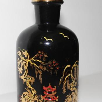 Wheaton Glass perfume/cologne/toilet water bottle.
