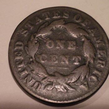 1832 Large cent