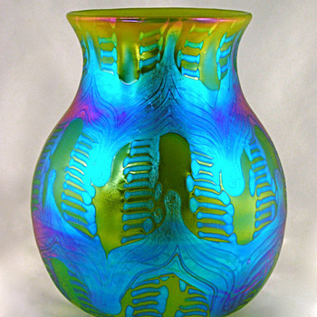 Loetz Phenomen Genre 1/158, circa 1902 - Art Glass