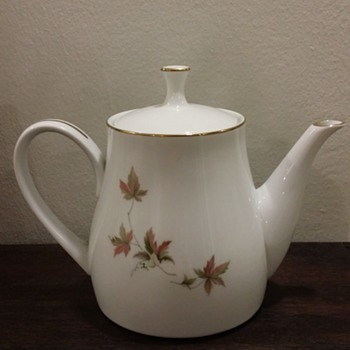 Royal Ceramics Vintage Teapot - China and Dinnerware