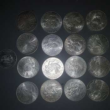 1972 munich  coin collection - World Coins