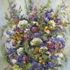 Nice looking flower painting.