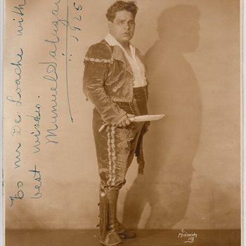 Unknown Photo and Autograph... - Photographs