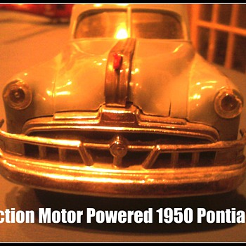 Amazing that this friction powered promo Pontiac still works perfectly! - Model Cars