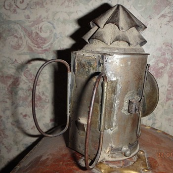 Vintage Bicycle Lantern or Railroad Related? - Lamps
