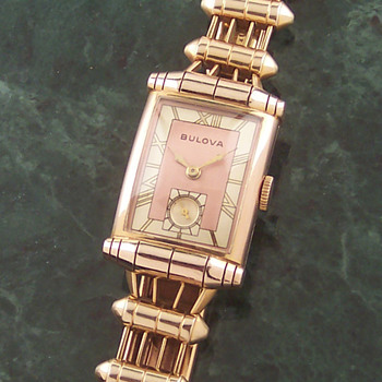 Deco Era Bulova Scroll Lug Man's Watch - Wristwatches
