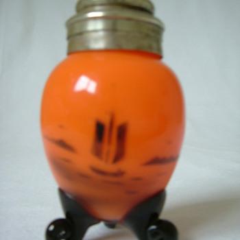 Czech Tango Glass Pepper Shaker - Art Glass