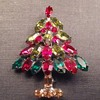 Napier Christmas Tree brooch