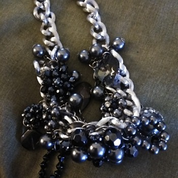 Newer chunky necklace - Costume Jewelry