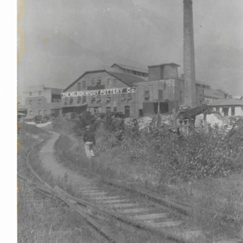 Old Photo Of The 1st Nelson McCoy Factory - Photographs