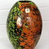 Kamei Glass multicoloured spatter vase