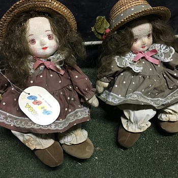 Pair ORGEL Dolls LOVE & HAPPINESS YOU&I