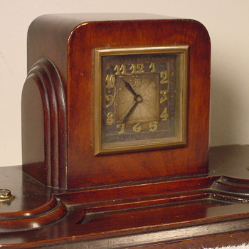 1929 Herman Miller Clock, Model #3064, with Leon Hatot ATO Movement