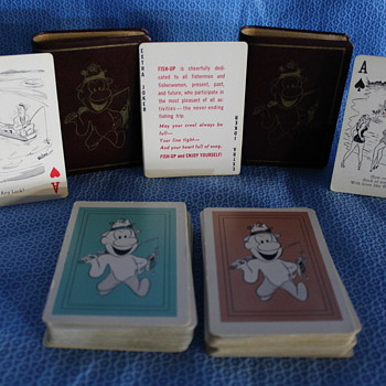 "2 decks + case ""fishemen"" - Cards"