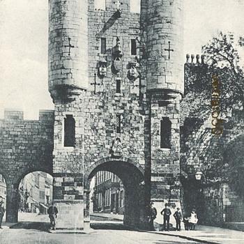 MICKELGATE BAR c 1900 - Postcards