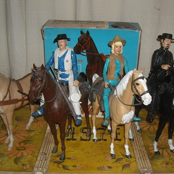Thunderbolt the Western Range Horse Johnny West - Toys
