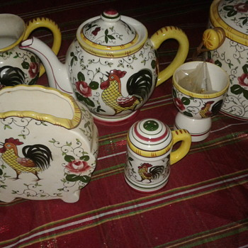 Rooster and Roses Kitchen Ware - Kitchen