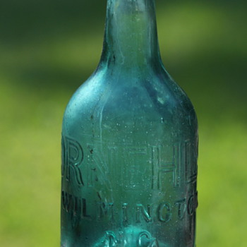 *****Old pontiled soda bottle***** - Bottles