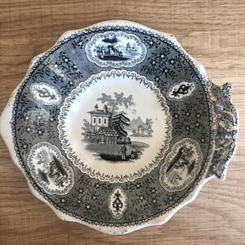 Pearl Florentine China Dish - China and Dinnerware