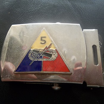 Brass Belt Buckle(Military?)