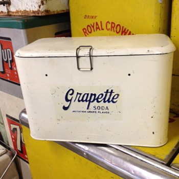 Grapette Progress A2 Cooler - Advertising