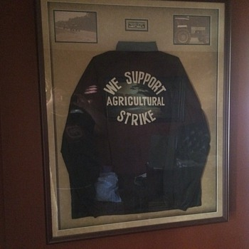 Agriculture Strike jacket  - Mens Clothing